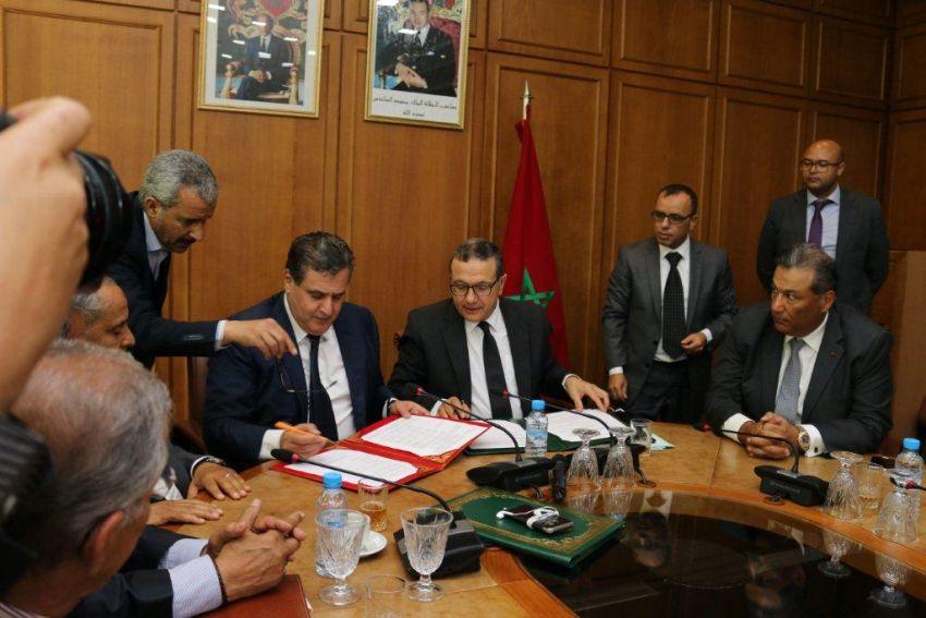توقيع اتفاقية تهدف إلى تمويل التعاونيات الزراعية لجمع محصول القمح